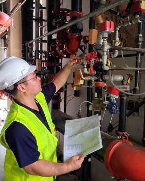 Fire Sprinkler Inspection