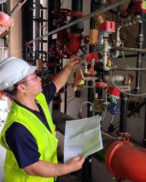 Fire sprinkler contractor